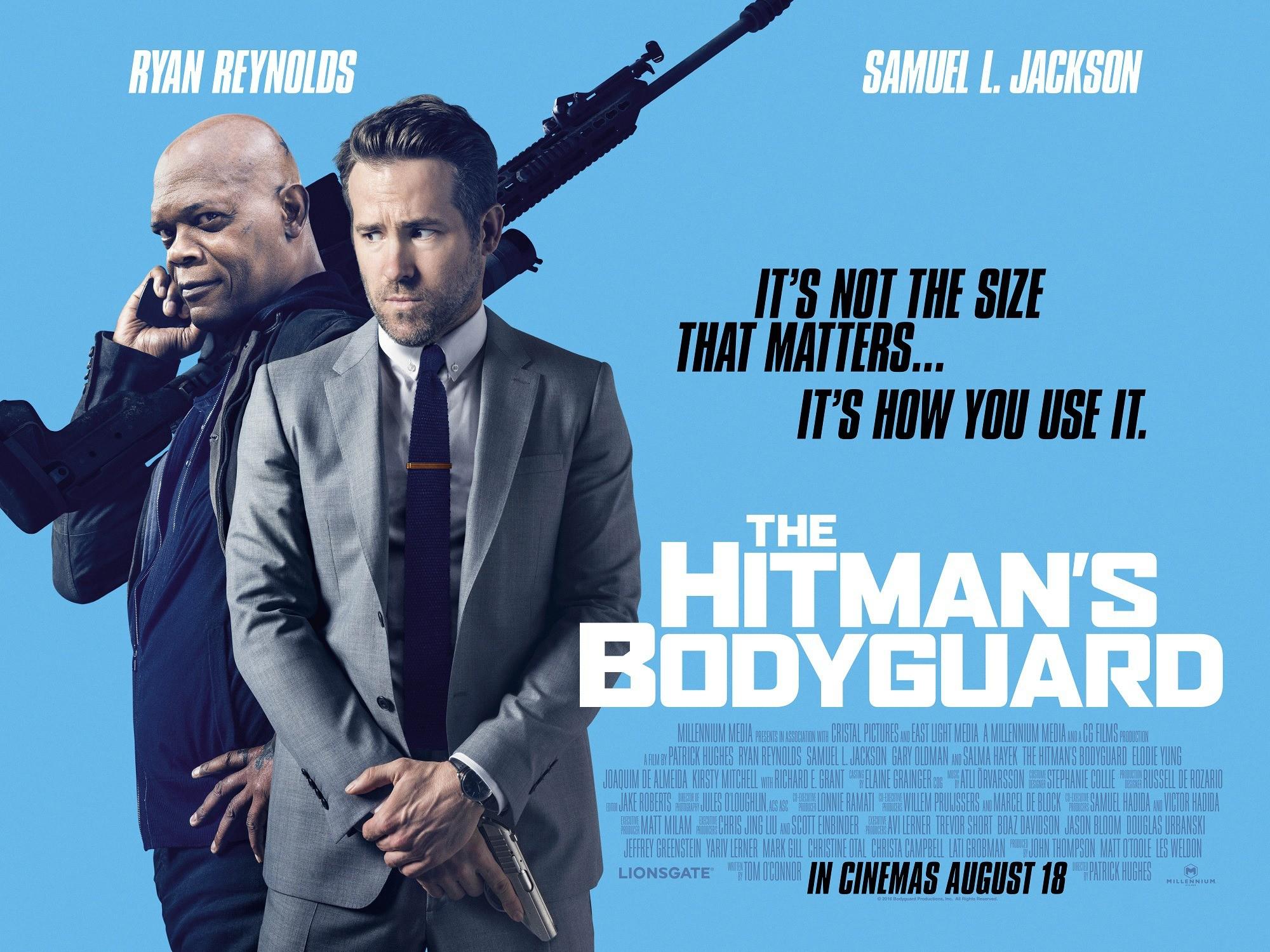 Ο σωματοφύλακας του εκτελεστή (The Hitman's Bodyguard) Quad Poster