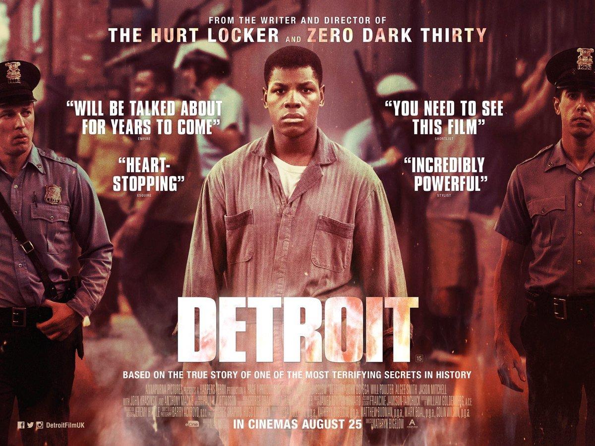 Detroit: Μια οργισμένη πόλη (Detroit) Quad Poster