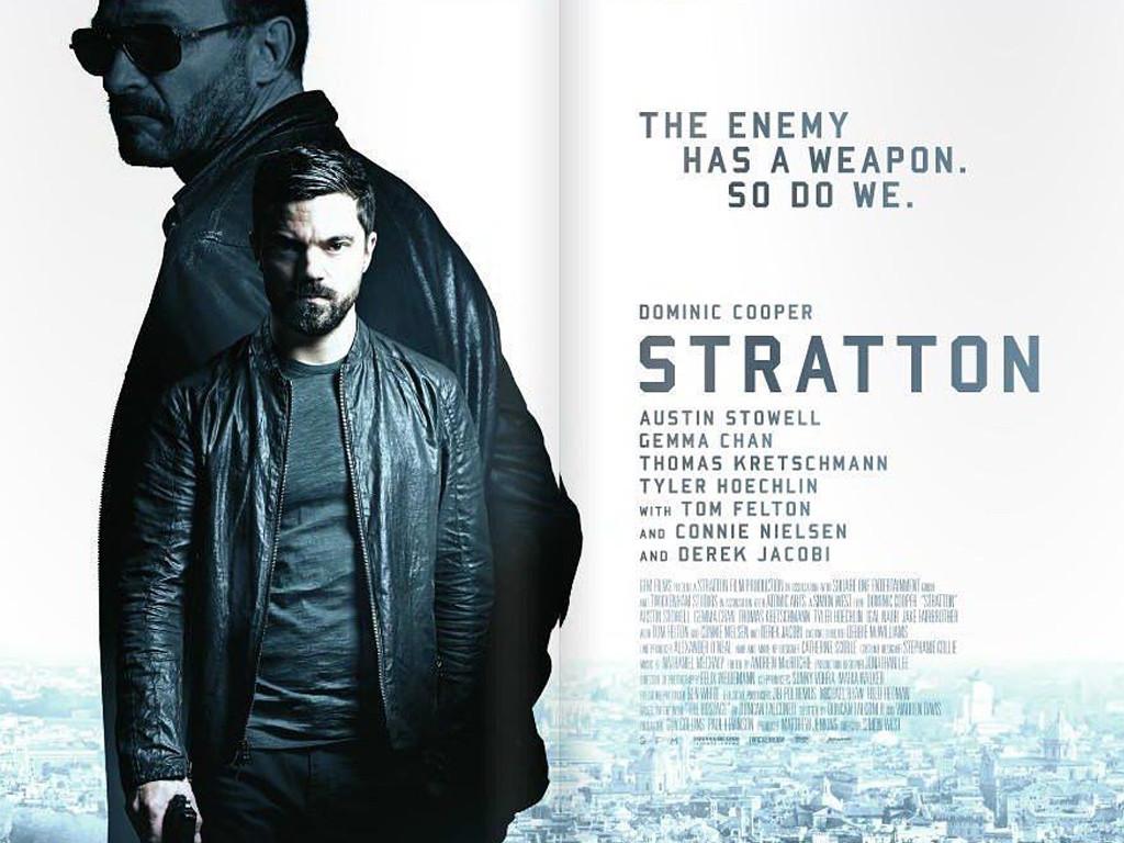 Επίλεκτος πράκτορας Stratton (Stratton) Quad Poster
