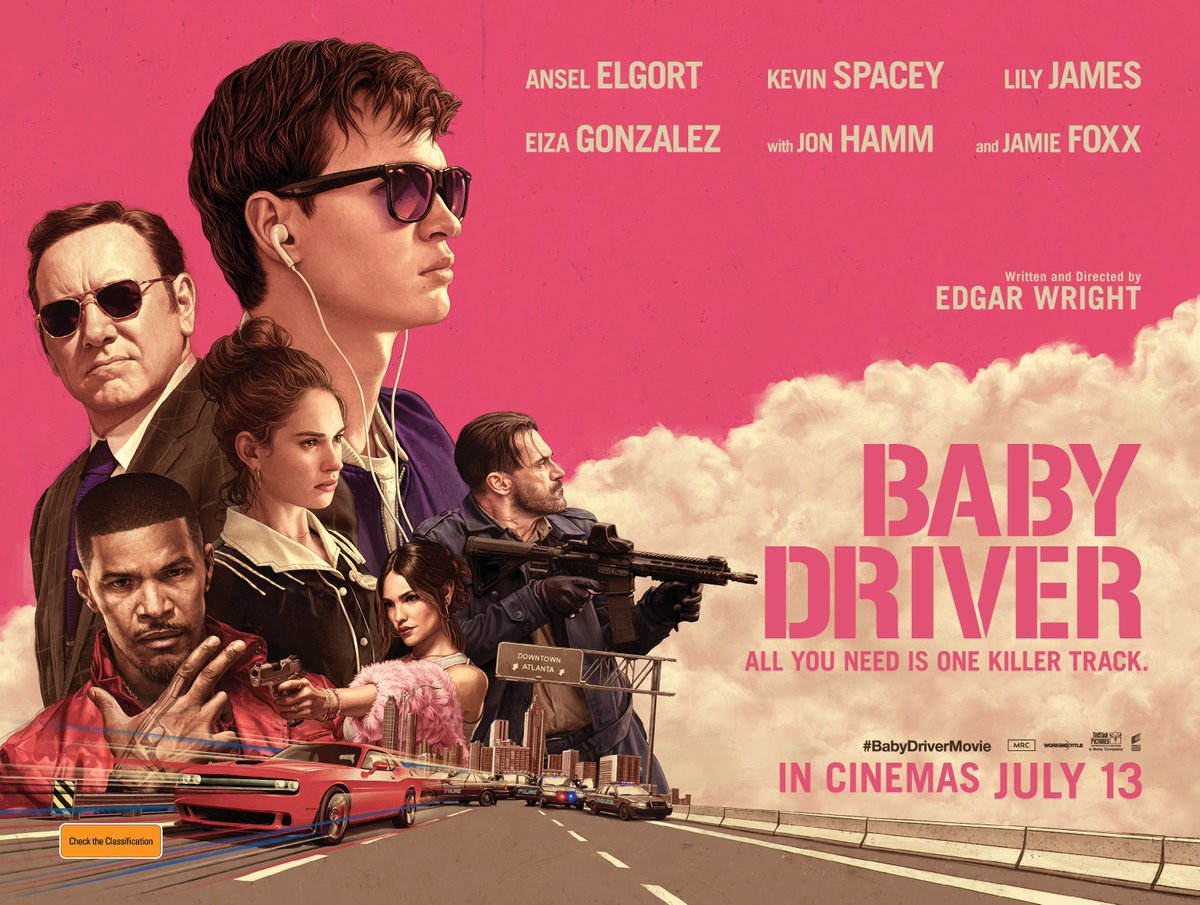Baby Driver Wallpaper