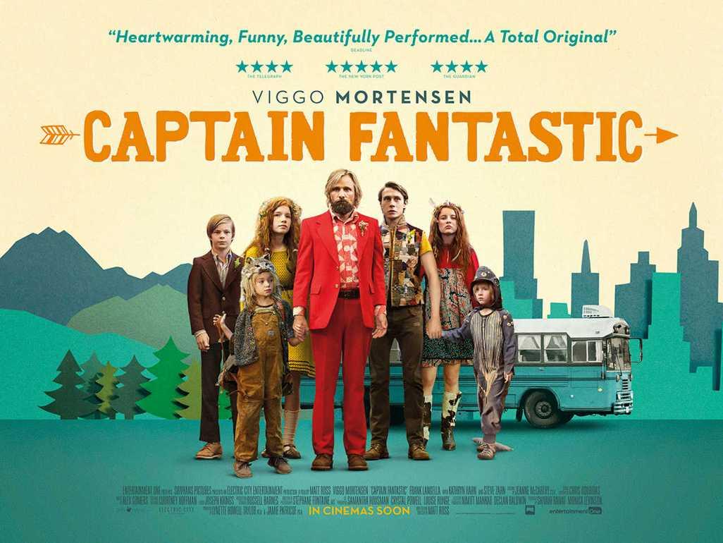 Captain Fantastic Wallpaper