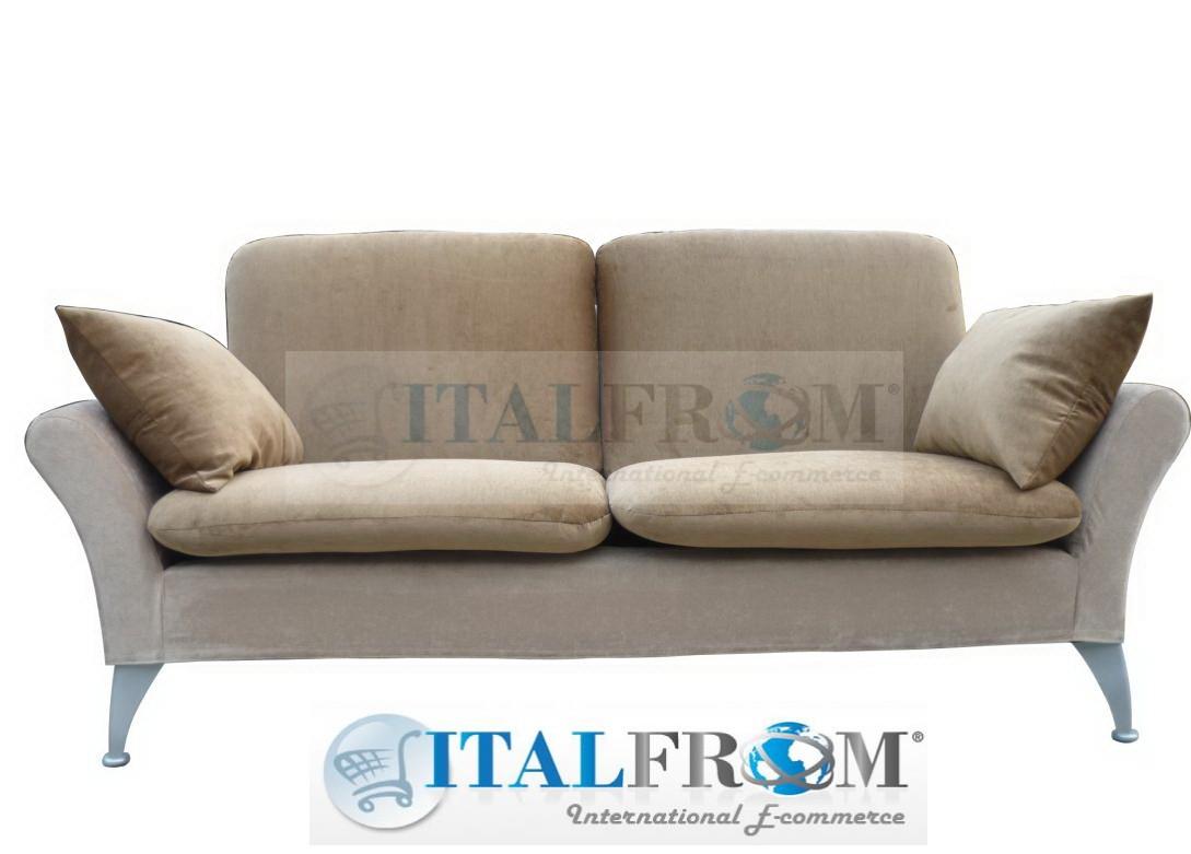 Divano letto divani sofa sof bed poltrona design in microfibra offerta ebay - Divano design offerta ...