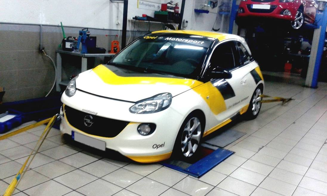 Opel / Vauxhall Adam S on the Dyno with Forged Internals
