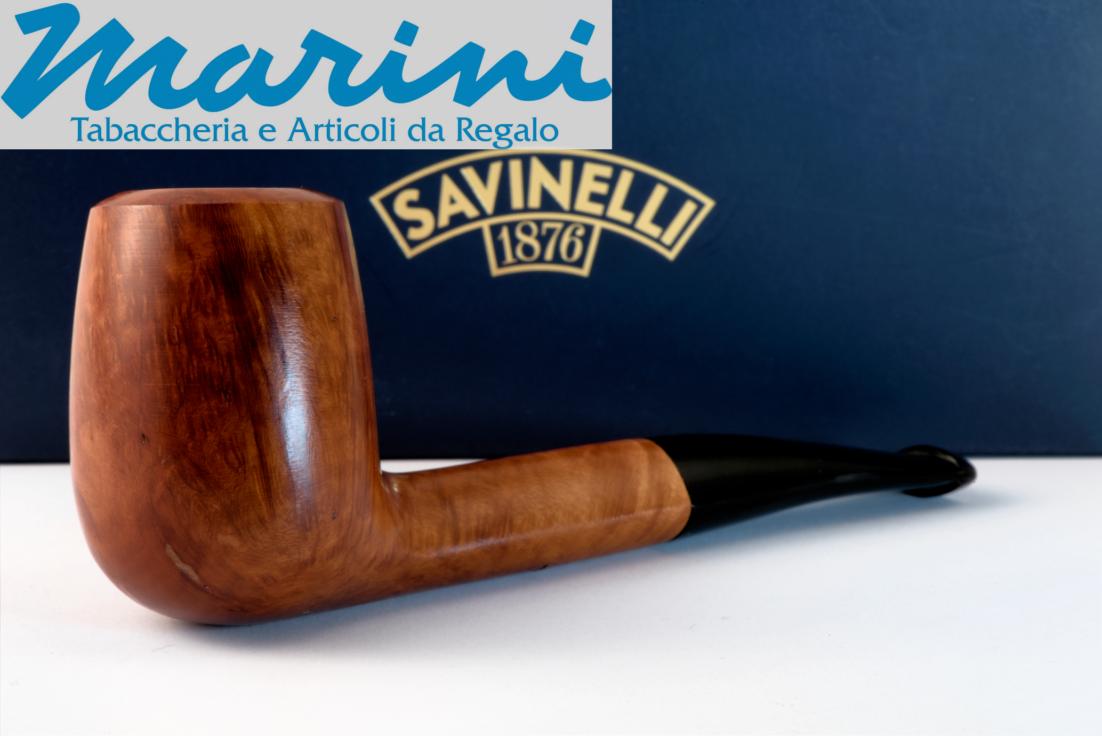 Smoking pipes pipe Savinelli 673 KS briar natural waxed wood made in Italy