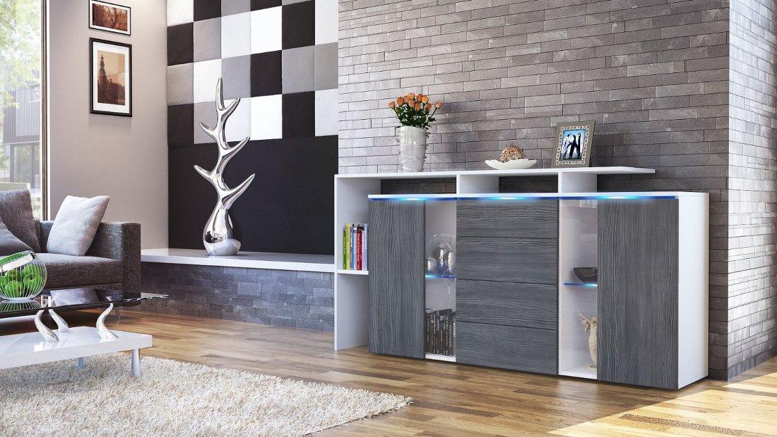 Credenza Moderna Conforama : Conforama madie e soggiorni emejing mobili soggiorno componibili