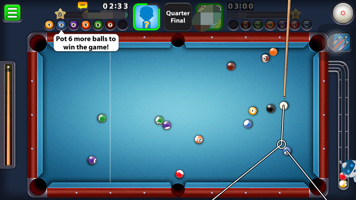Hack] 8 Ball Pool Cheats (compatible with ios 9) - Cheat