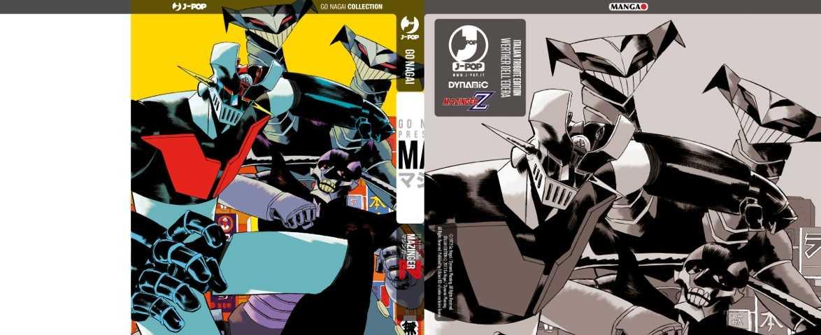 mazinger variant cover