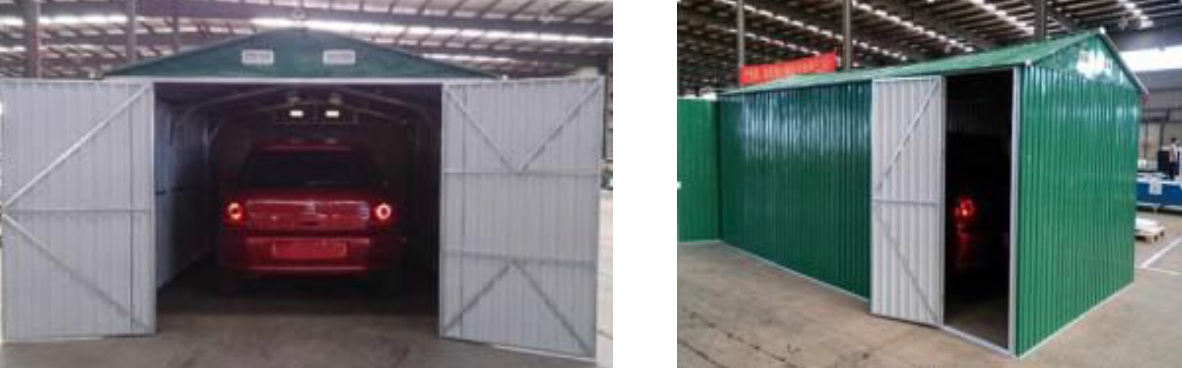 Box casetta casette rimessa ripostiglio garage auto for Box garage lamiera