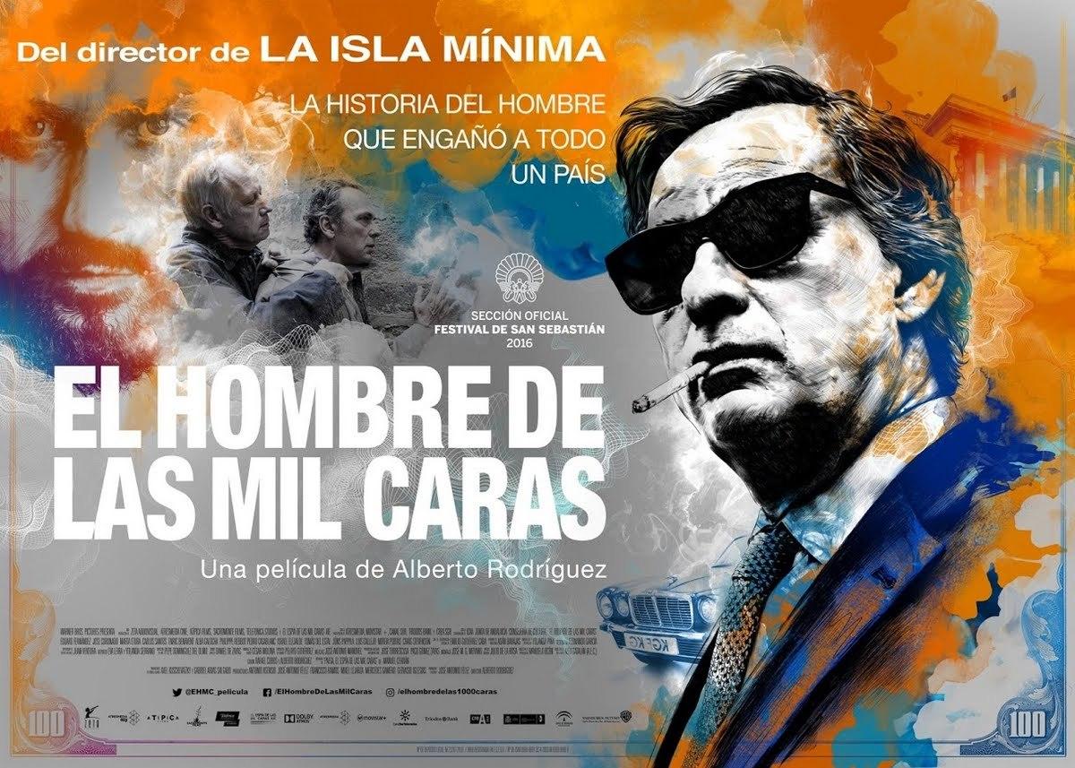Ο άνθρωπος με τα χίλια πρόσωπα (El hombre de las mil caras) Quad Poster