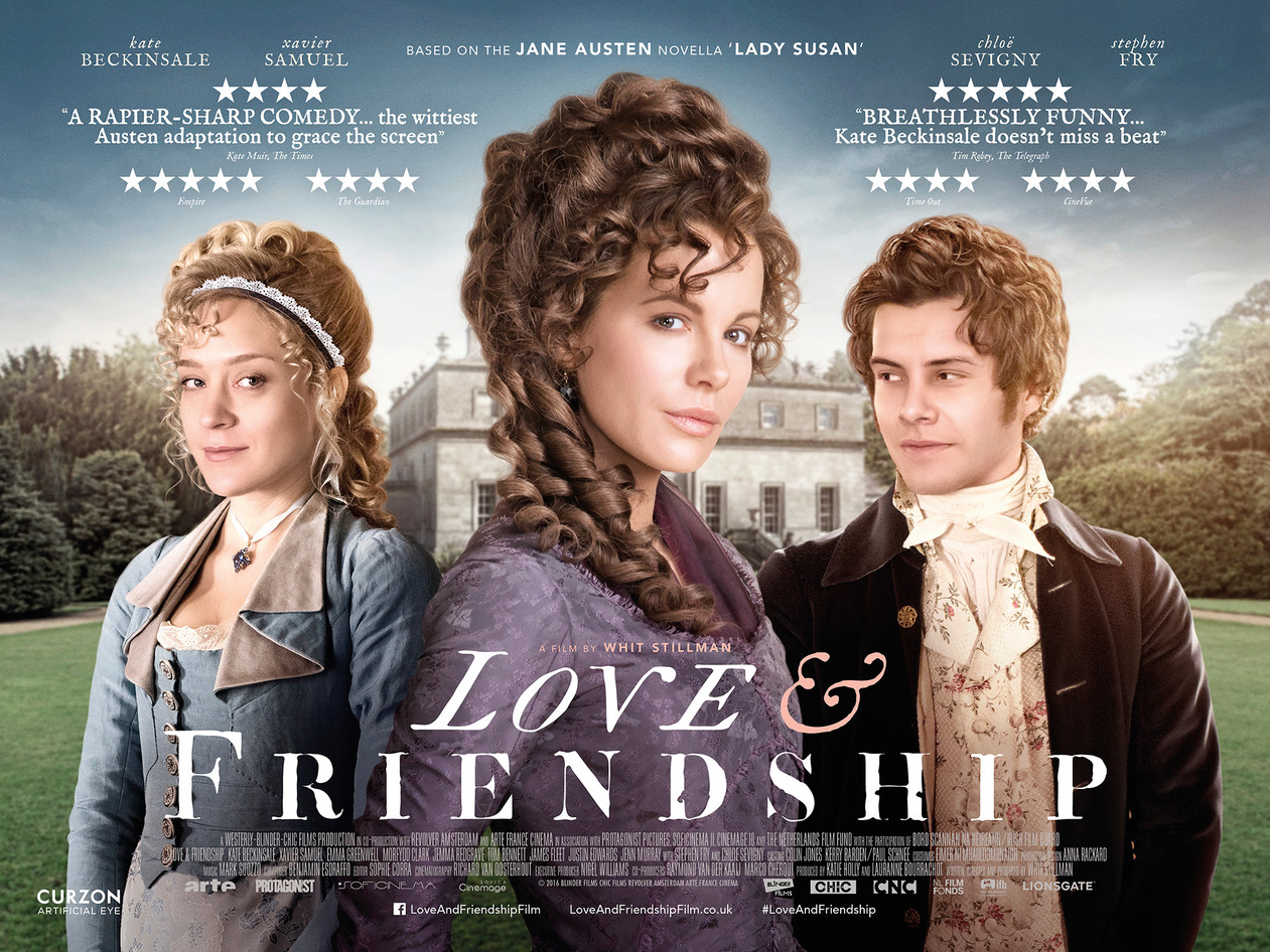 Έρωτες & φιλίες (Love & Friendship) Quad Poster
