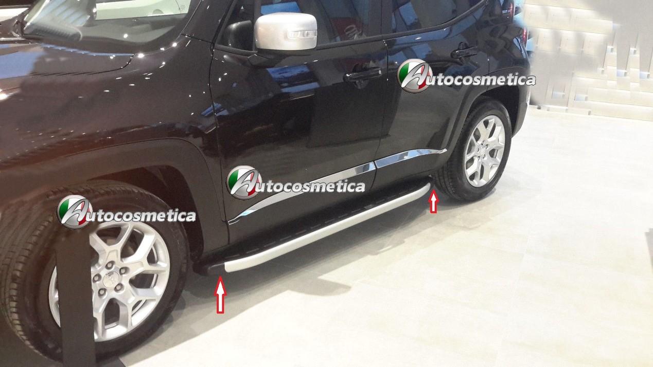 Pedane steps sottoporta con profilo laterale in alluminio - Paraspifferi sottoporta automatico ...