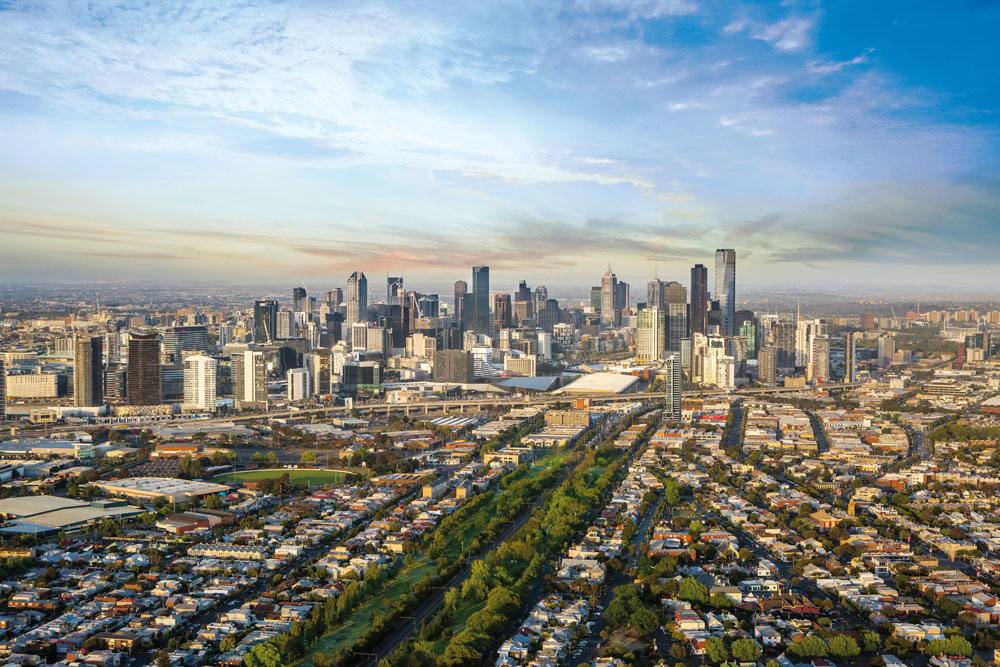 FISHERMANS BEND ZONE | Gravity Tower | 91 Montague Street | 98m | 30L | Residential