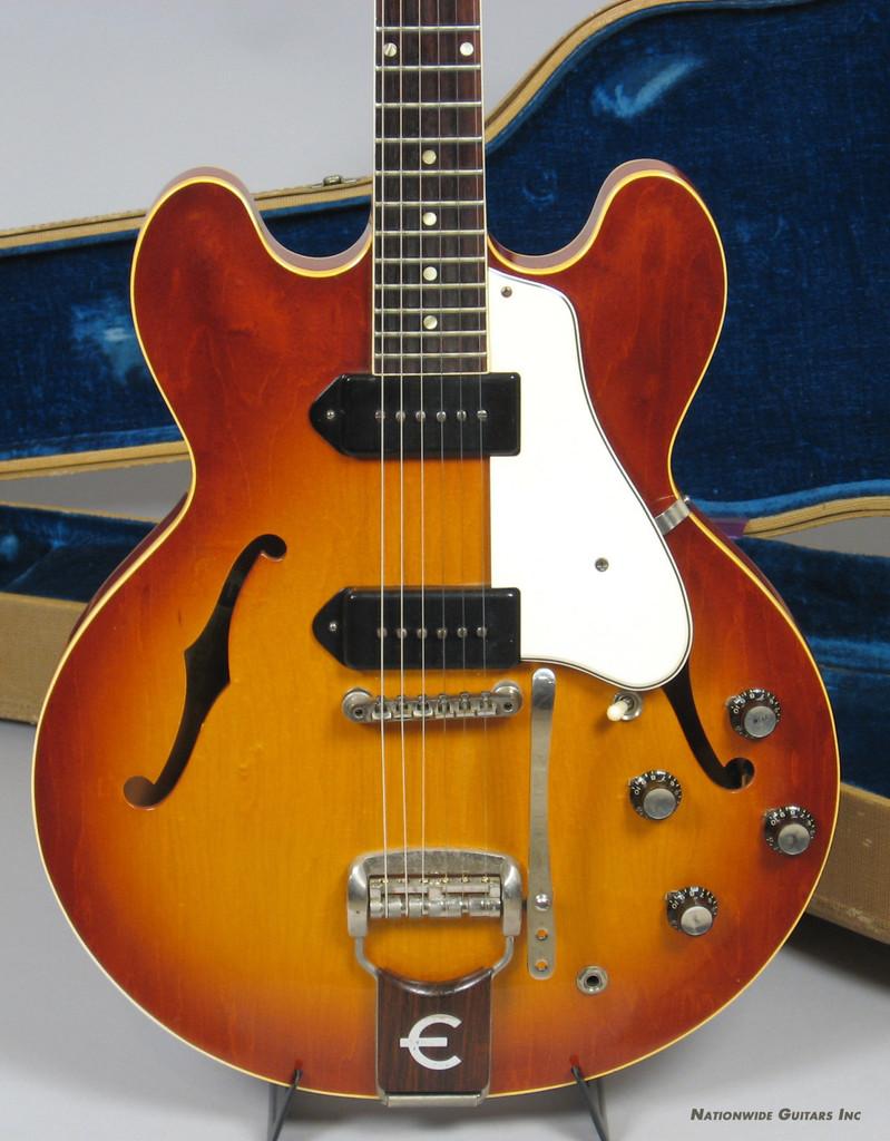 1961 Epiphone Casino Guitar with Original Hardshell Case and