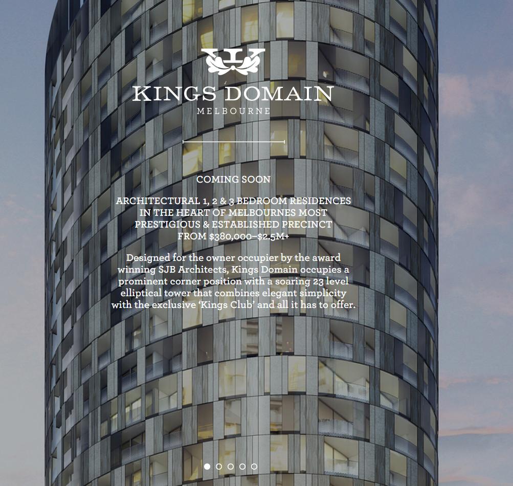 SOUTHBANK | King's Domain | 68-70 Dorcas Street | 29L | 92m | Residential