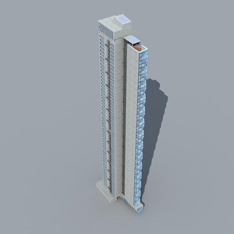 CBD | 48-50 A'Beckett Street | 198m | 59L | Residential