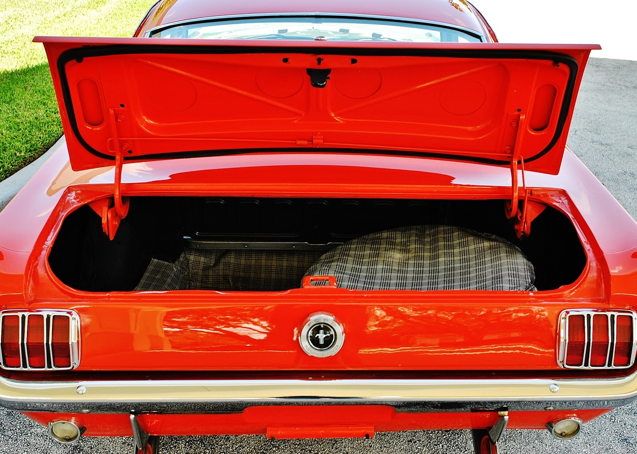 1965 Ford Mustang Fastback C Code 289 V8 Auto Fully Restored: 2+2 Rear Sport Deck Option New Wheels New Chrome
