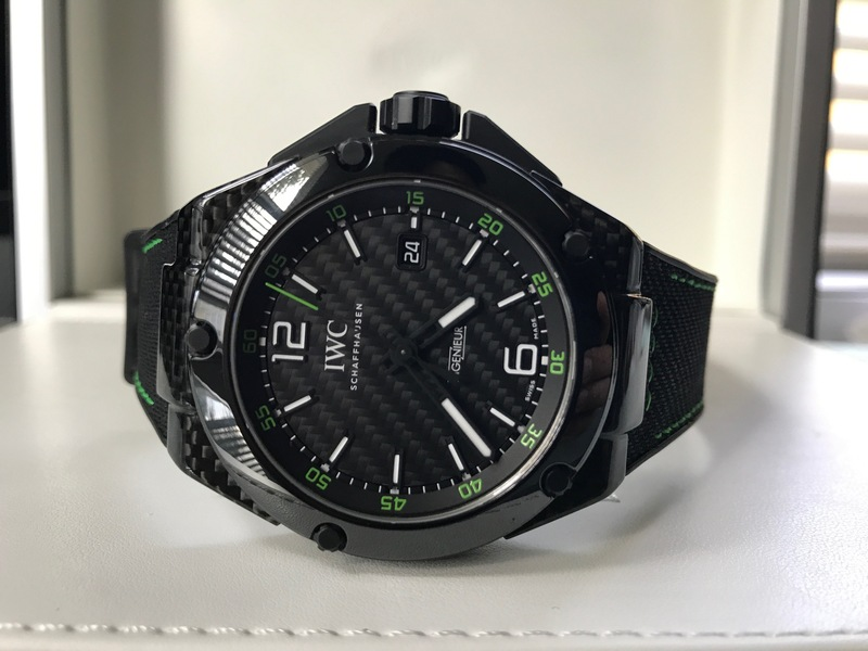 buy popular cca66 edfc6 US IWC Ingenieur Carbon Fiber 46MM IW322404 with box and ...