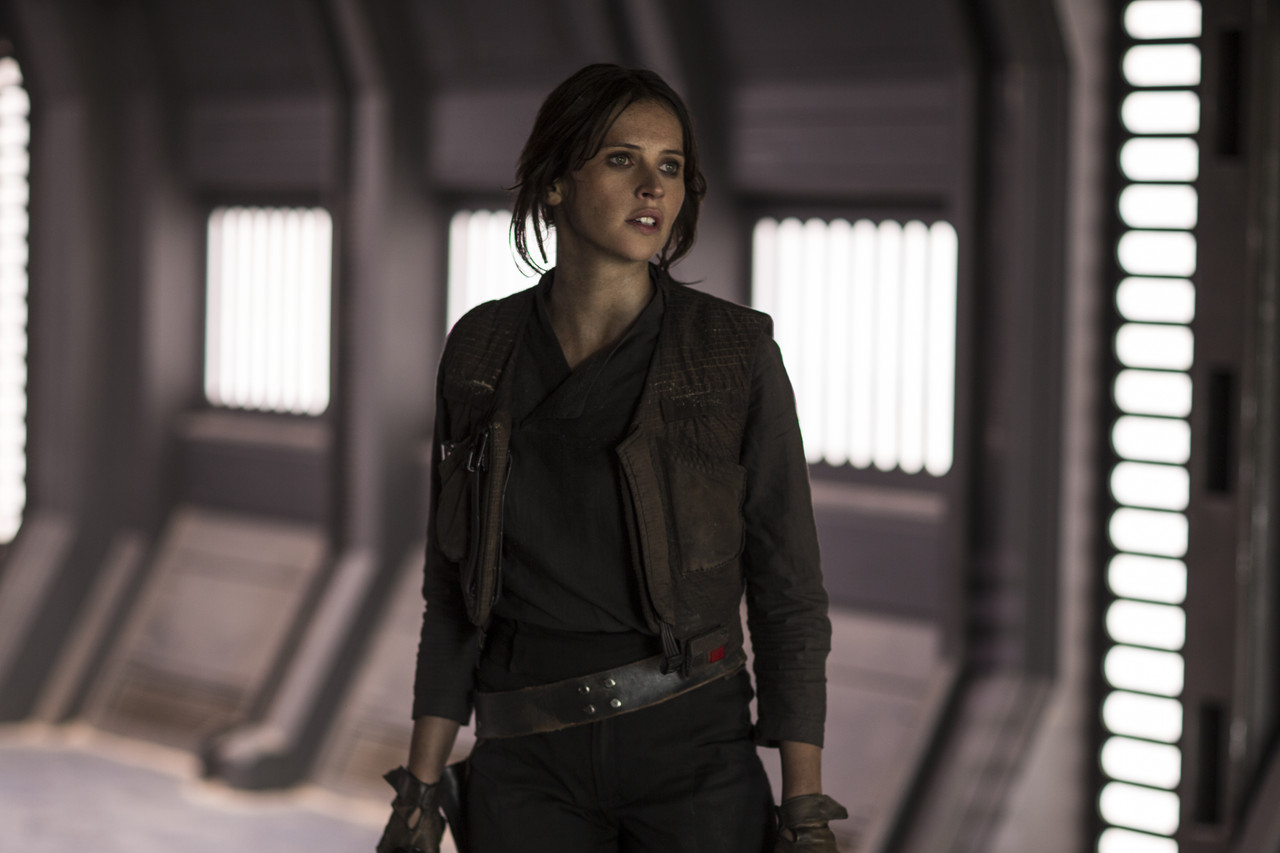 Felicity Jones stars in 'Rogue One: A Star Wars Story,' image courtesy of Walt Disney