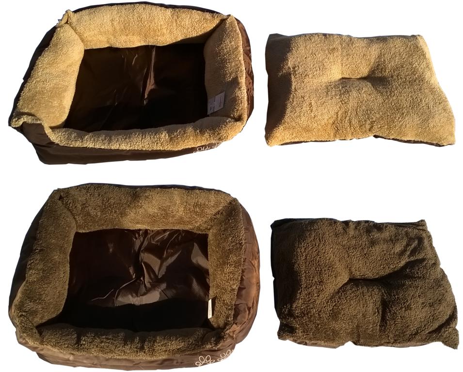 Cuccia per cani gatti piccola media grande morbida interno for Cucce da interno per cani taglia grande