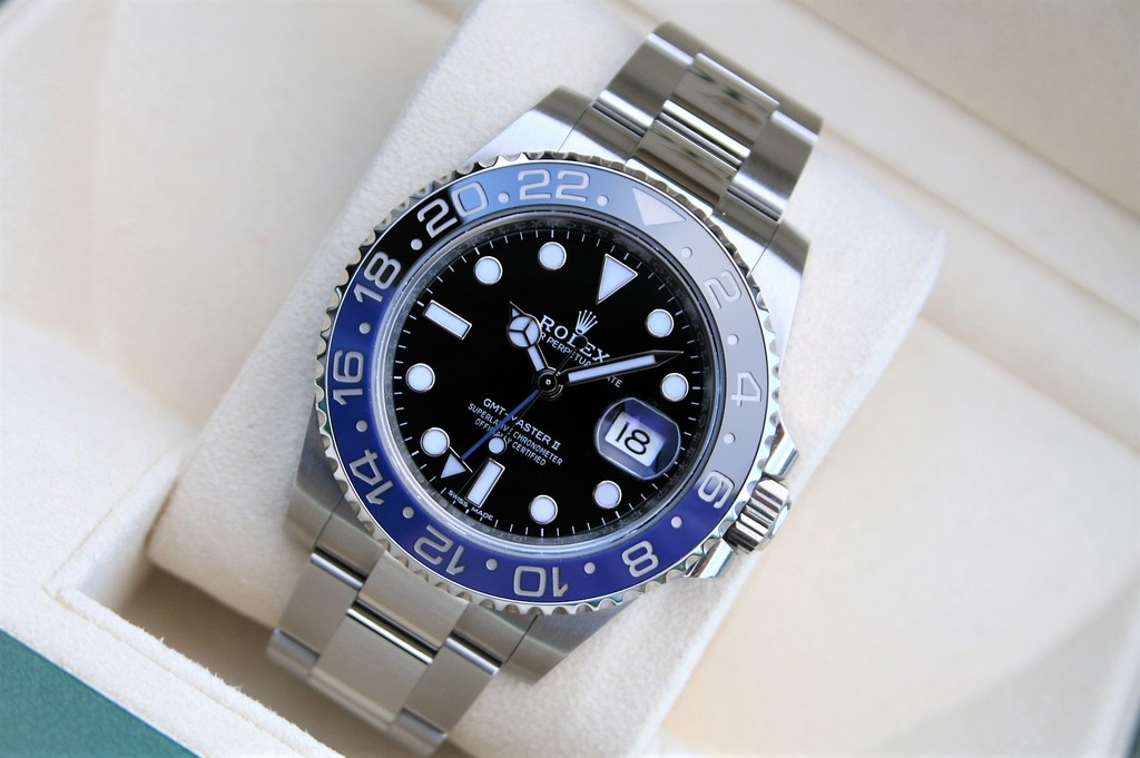 46926b1ece8 Price Rolex GMT II Batman 116710BLNR Complete and Mint (Rolex)