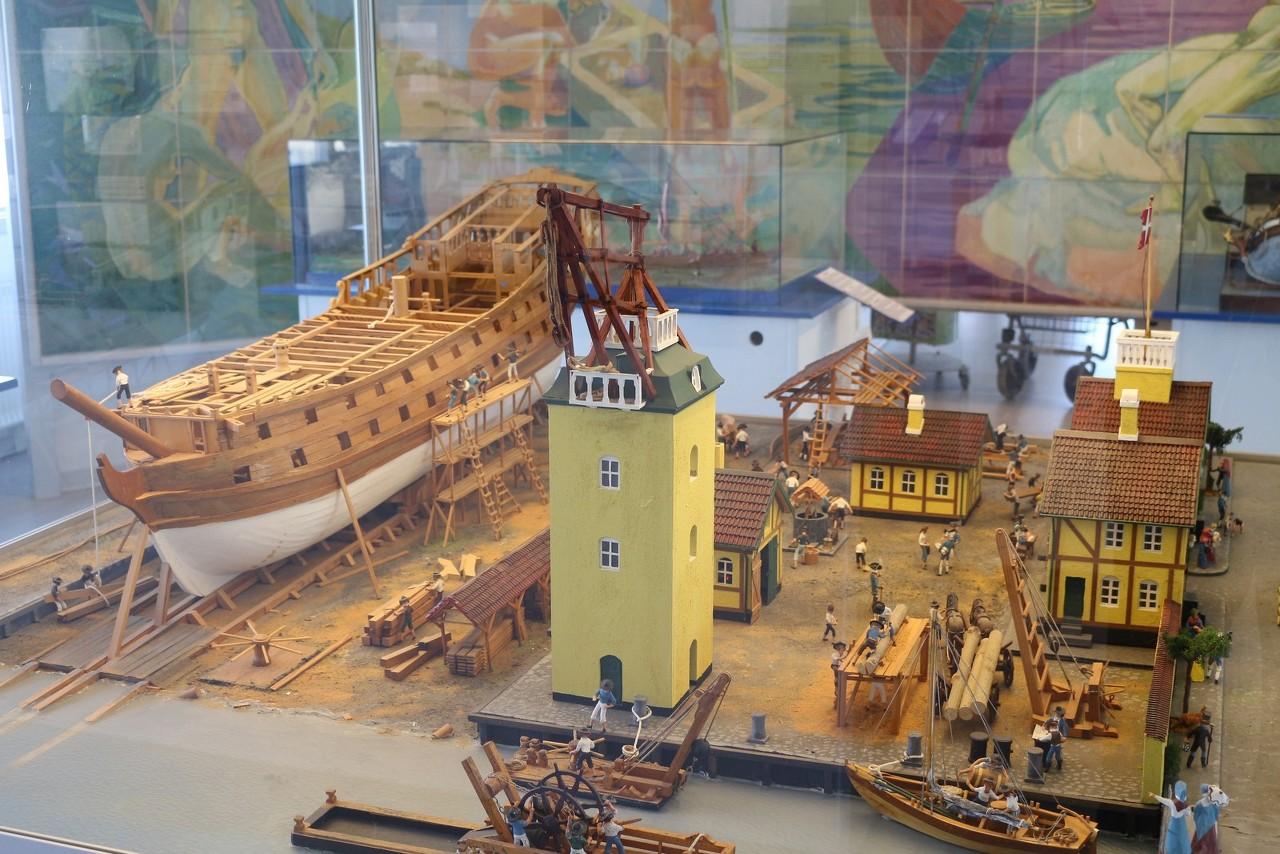 Modelarstwo Plastikowe • Zobacz wątek - Alborg,Maritimt Museum
