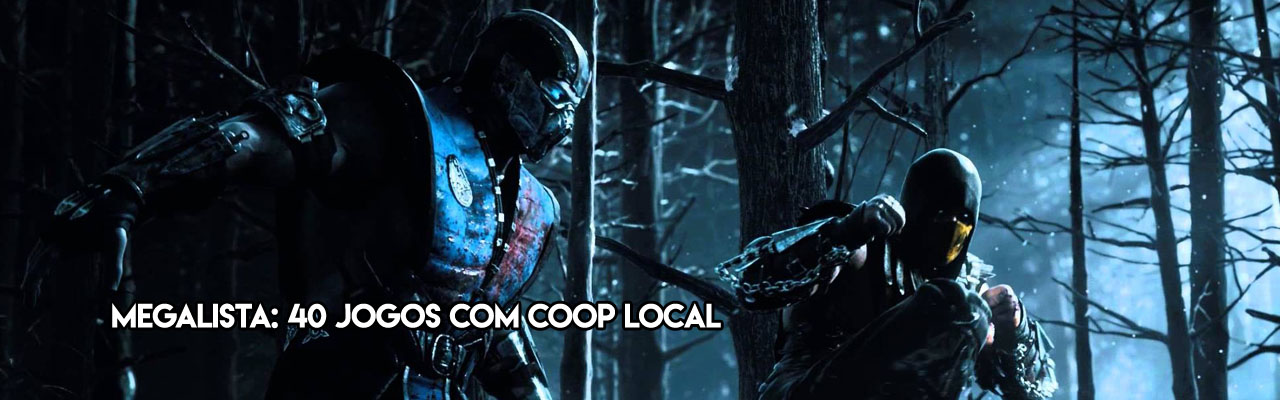 Megalista: 40 games com Co-Op local