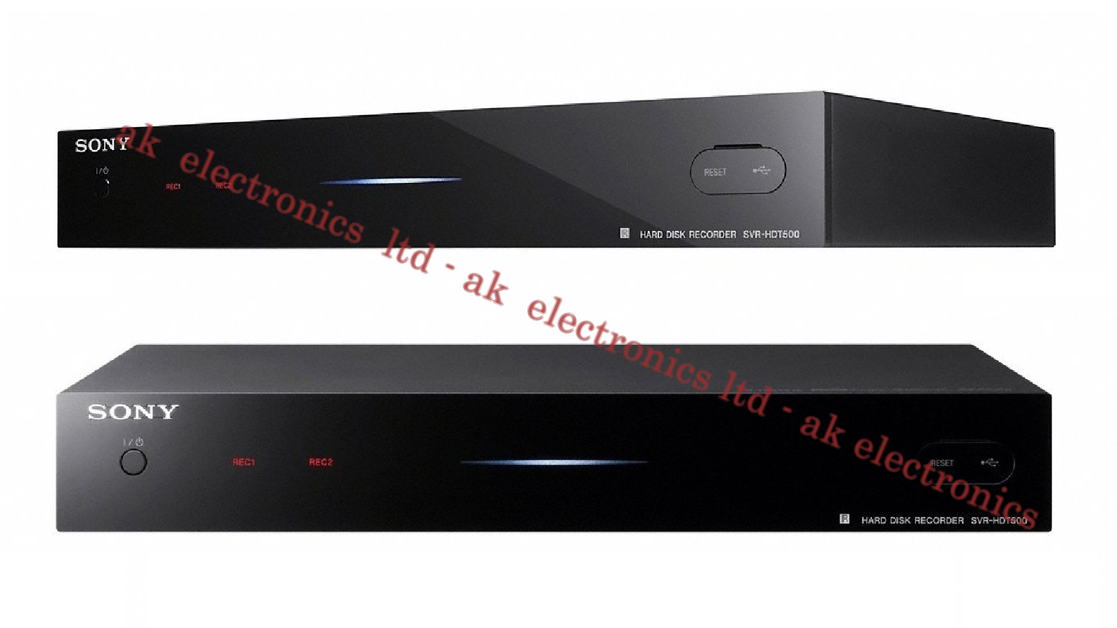 Details About Sony SVR HDT500 Twin Freeview HD Tuner Box 500GB HDD Recorder Receiver USB PVR