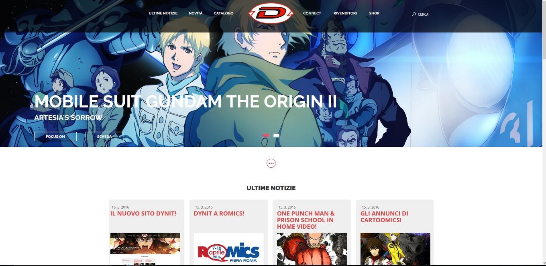 dynit nuovo sito