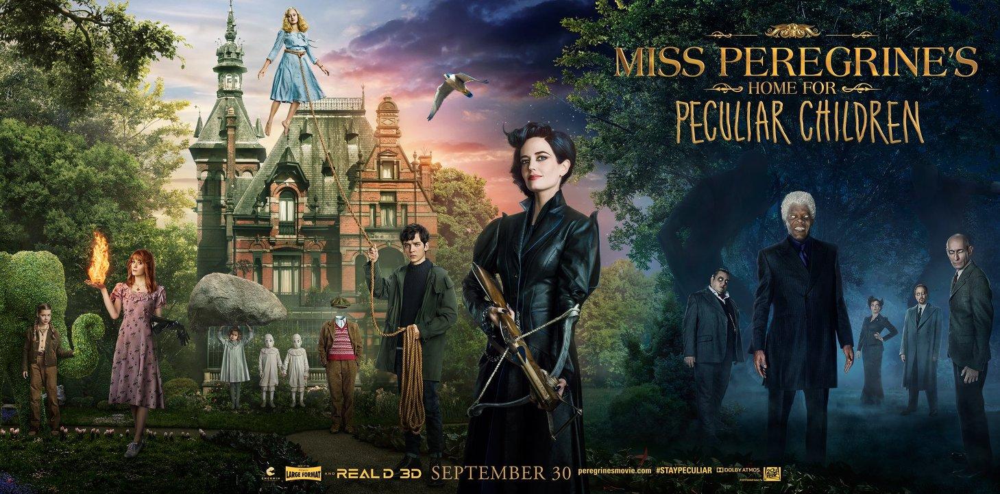 Μις Πέρεγκριν: Στέγη για Ασυνήθιστα Παιδιά (Miss Peregrine's Home for Peculiar Children) Wallpaper