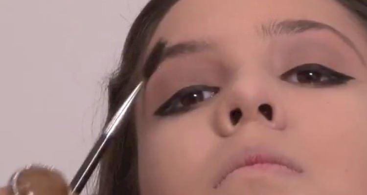 maquiagem para natal 2014 passo a passo