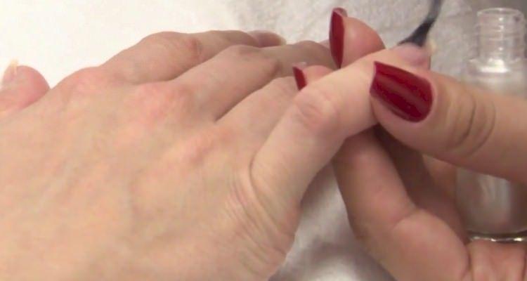 como fazer ombré nails