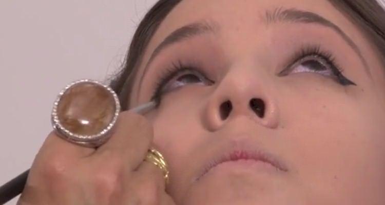 maquiagem para natal 2014