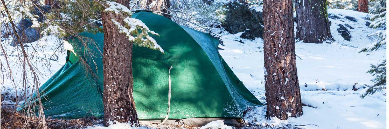 kış kampı için malzeme seçimi