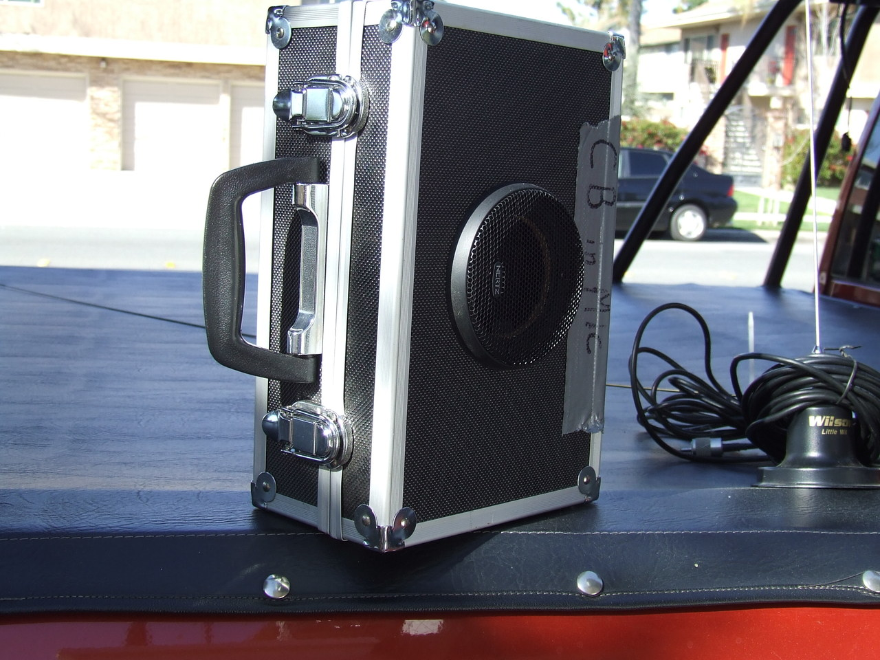 Where Have People Been Mounting Cb Radios No Center