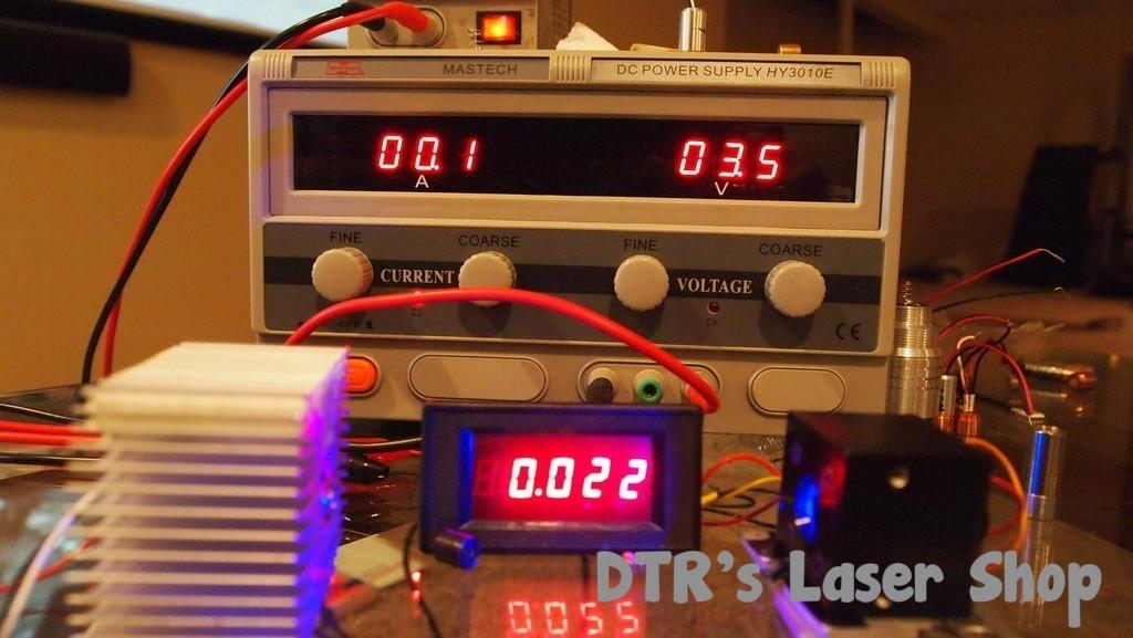 2w Copper 445nm M140 Blue Laser Module W X Drive Amp 405 G 2