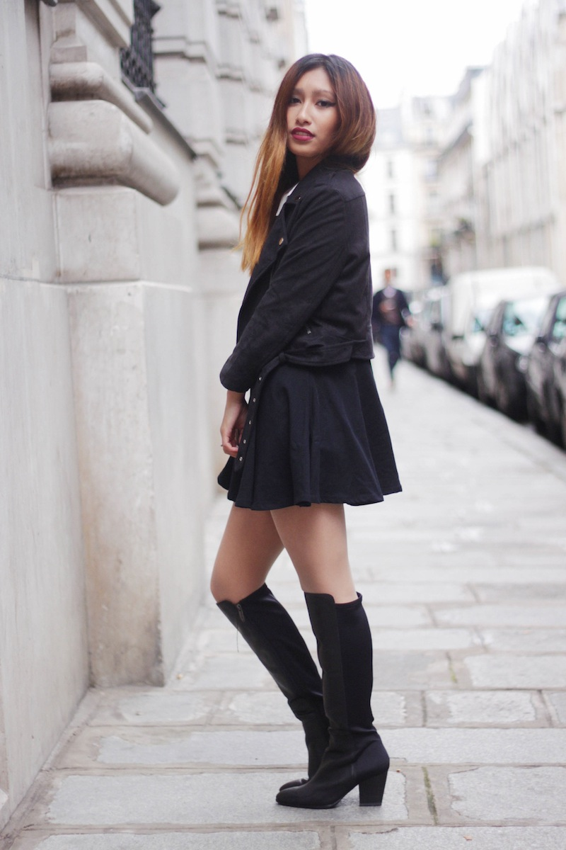 the Parislifestyle over boots Mode The knee Blog 0vmnwN8