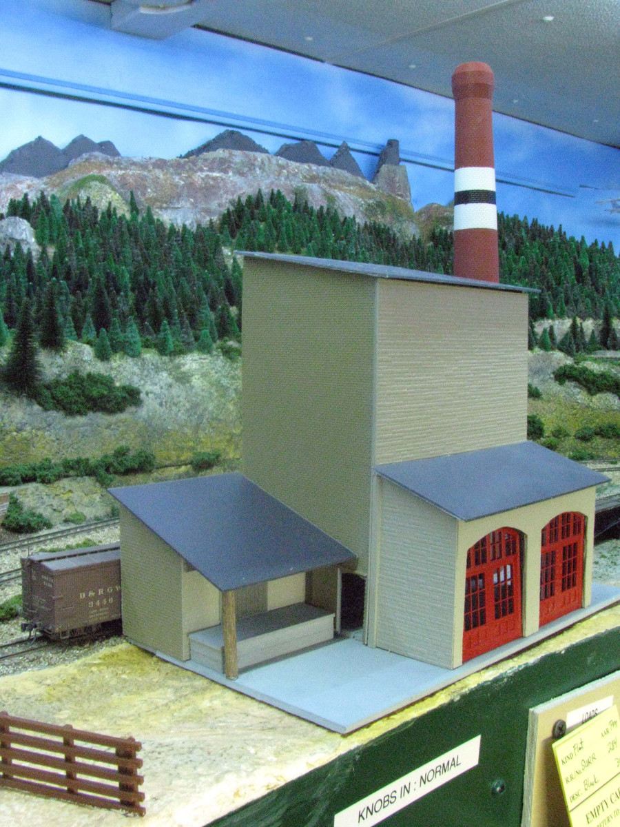 Using Plastic Quot Brick Sheets Quot In Ho Scale Model