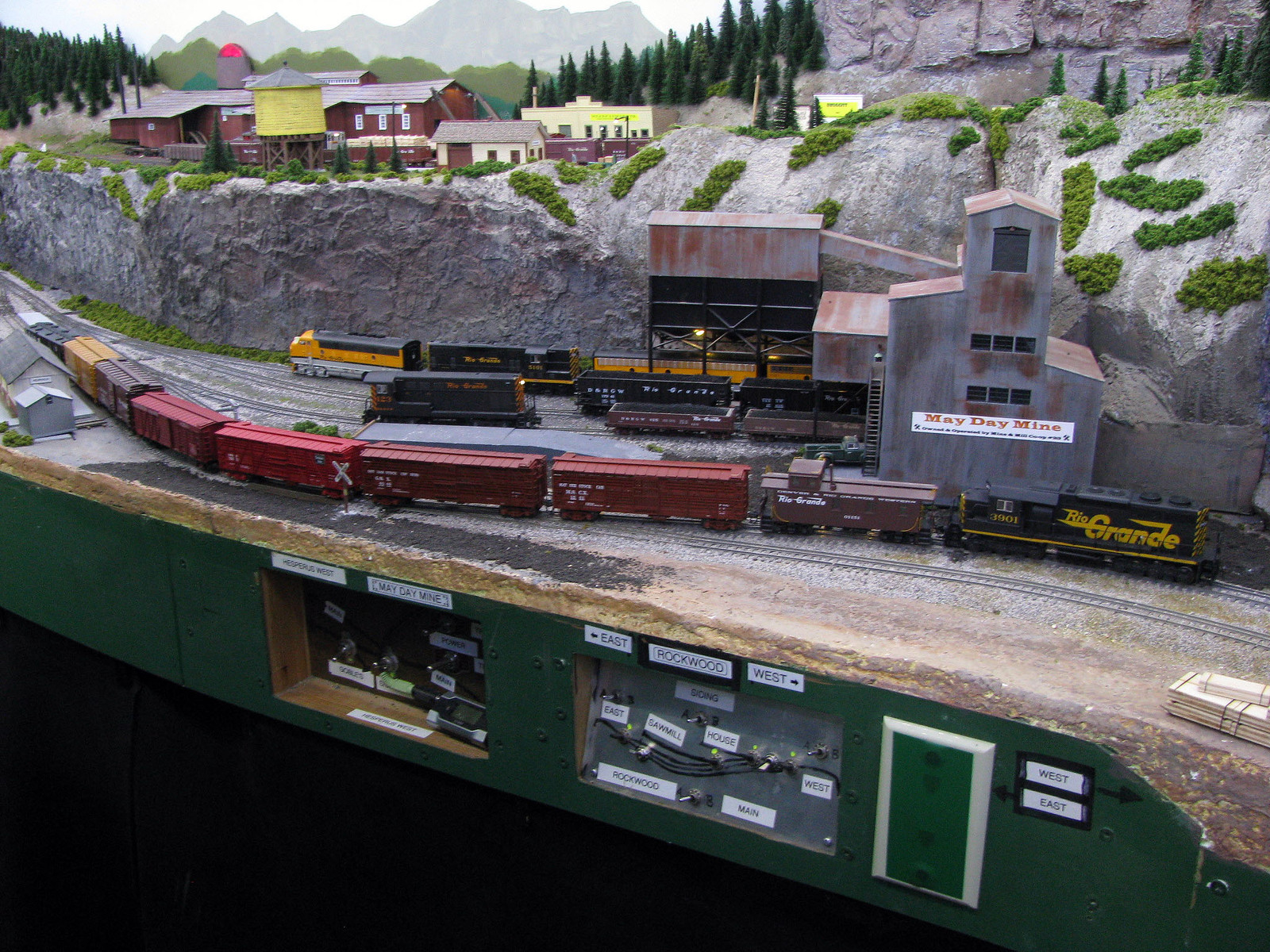 Corner Mountain Foam Or Chicken Wire Model Railroader Magazine Train Scenery Also Wiring Diagrams On Dcc Next Is Big Arse