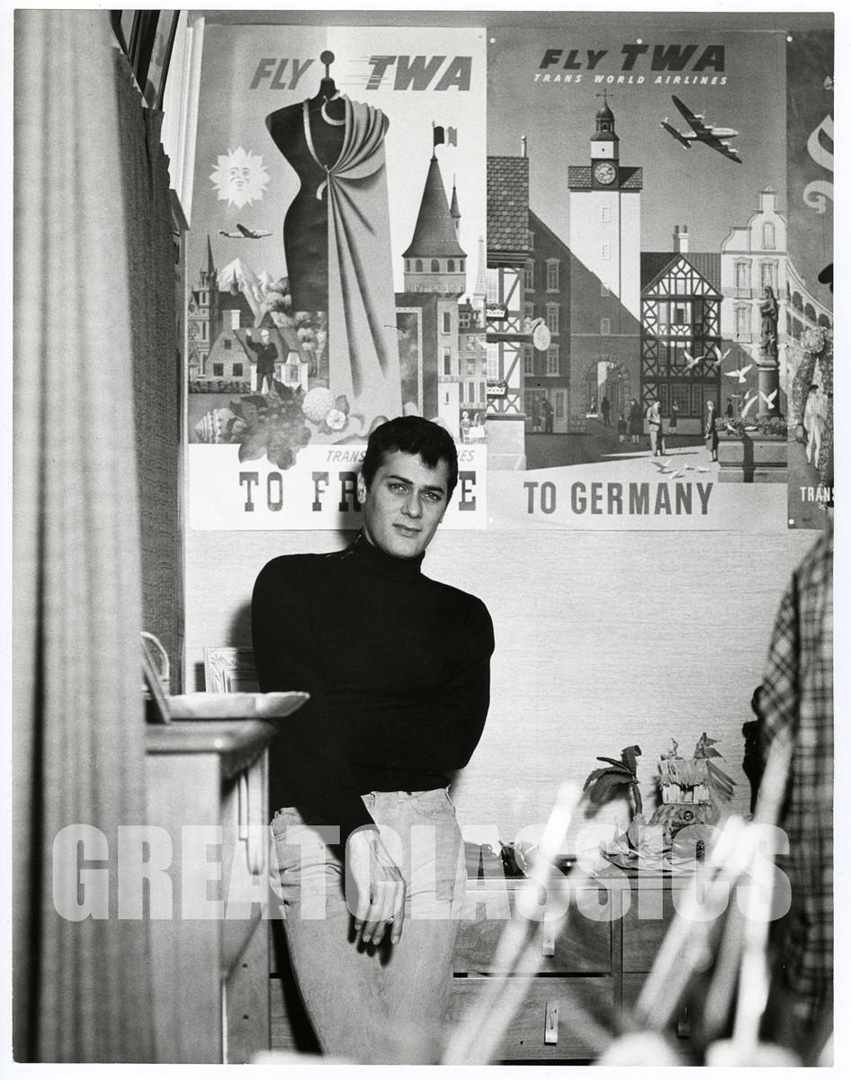 American Playboy The Hugh Hefner Story Wiki tony curtis guapo 1960s vintage peter basch firmado