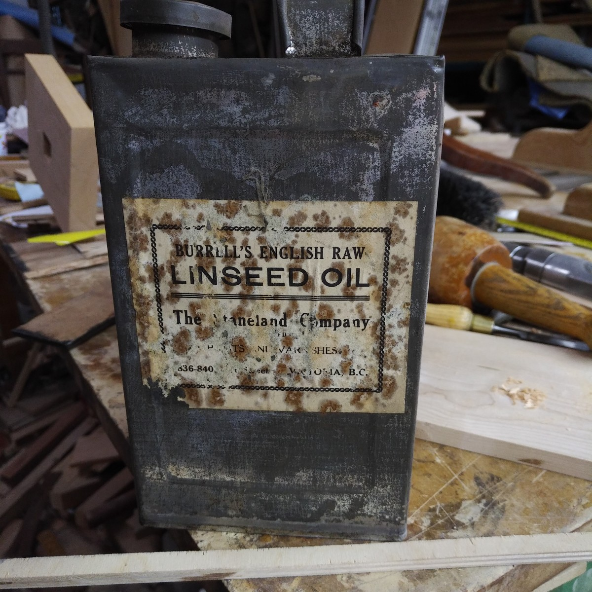Linseed oil - shelf life??