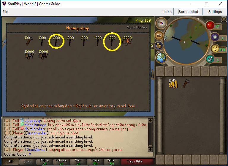 Kid's Easy 1-99 Mining/Smithing Guide!   SoulPlay Forums