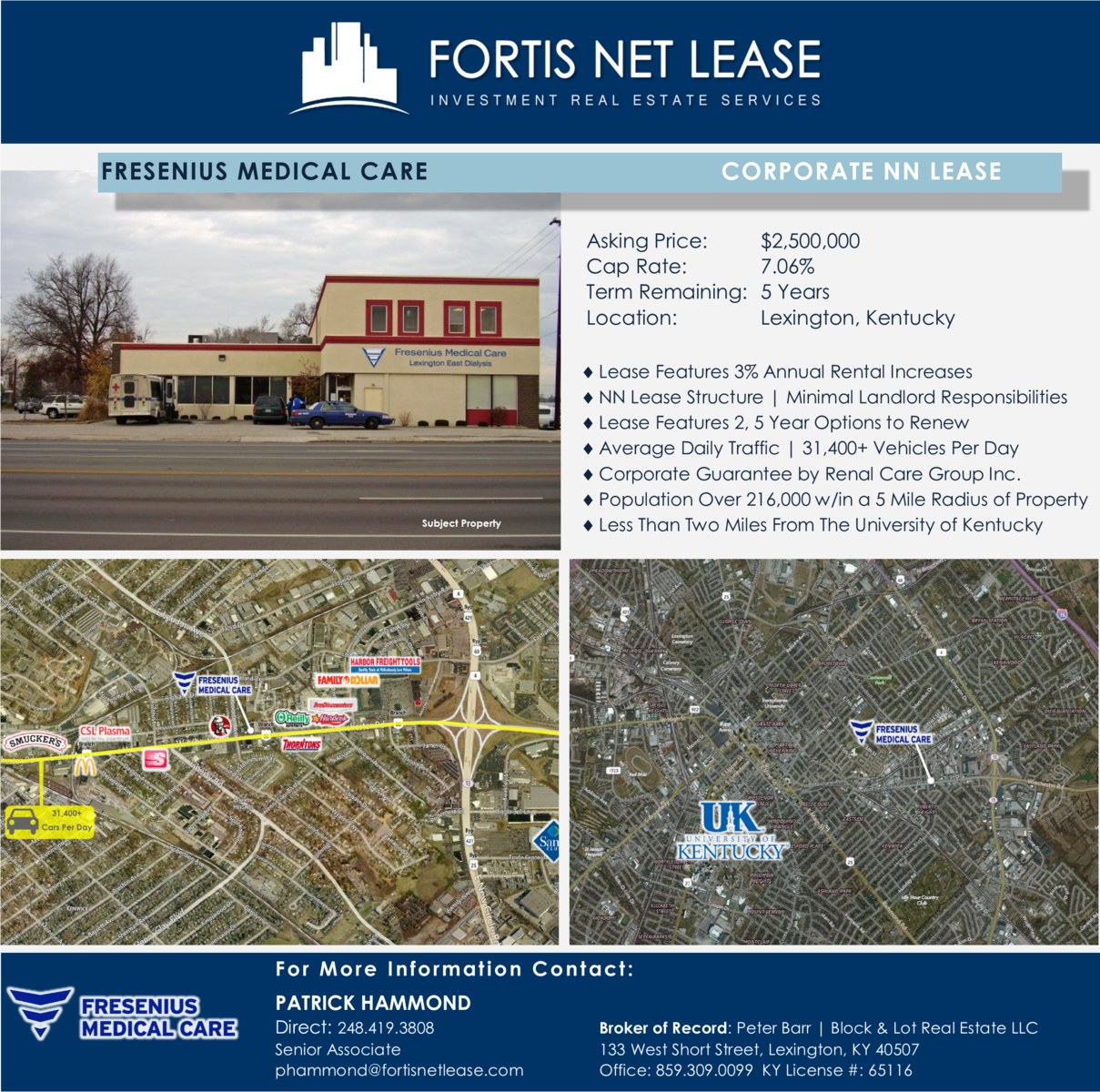 Fortis | Just Listed | Fresenius Medical Care | Lexington, KY | 3