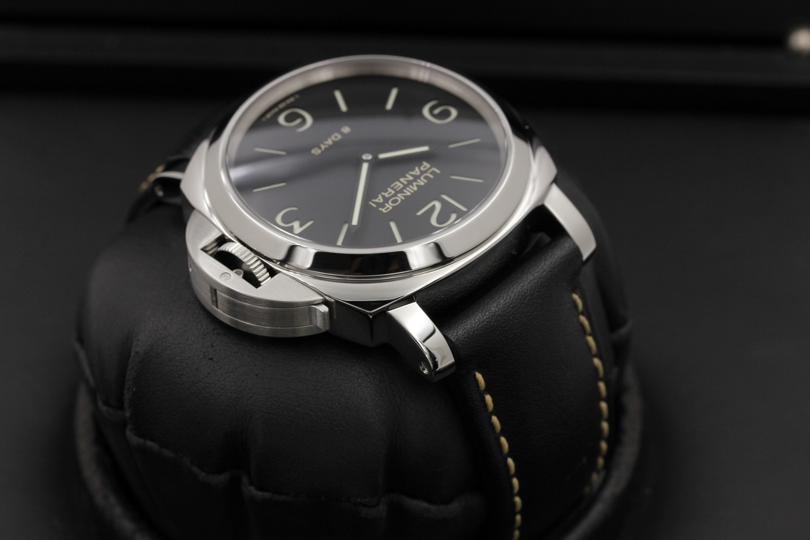 Panerai Luminor 8 Days Pam 560 Stainless Steel Ocwatchguy