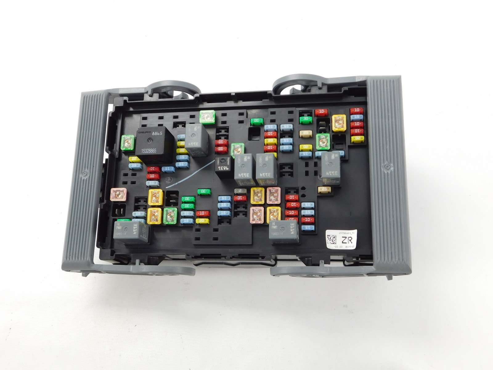 1986 jeep fuse box wires 2007 - 2009 gmc chevy cadillac wiring junction block fuse ...