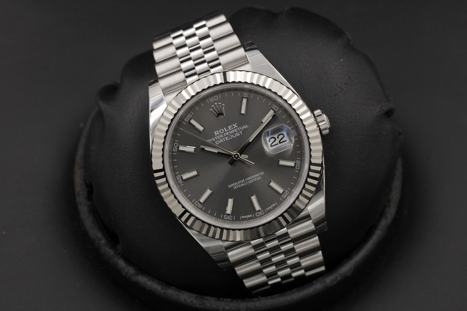Omega Authorized Dealer >> Rolex Datejust 41 126334 Stainless Steel - OCWatchGuy