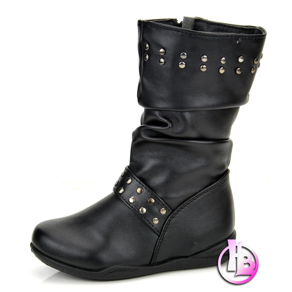 girls mid calf boots designer winter shoe size 4 5 6 7 8 9
