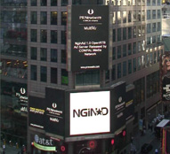 NginAd in Times Square NYC