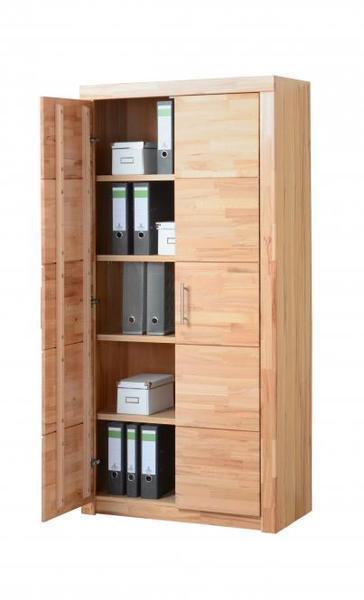 kernbuche teil massiv schrank 90cm kommode sideboard b roschrank b cherschrank ebay. Black Bedroom Furniture Sets. Home Design Ideas
