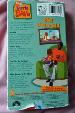 Little Bill Vhs Movie Nick Jr Big Little Bill 4 Stories