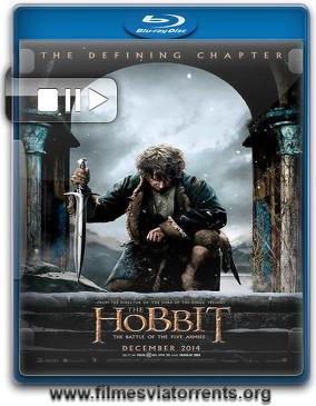 O Hobbit: A Batalha dos Cinco Exércitos Torrent - BluRay Rip 720p | 1080p Dual Áudio 5.1